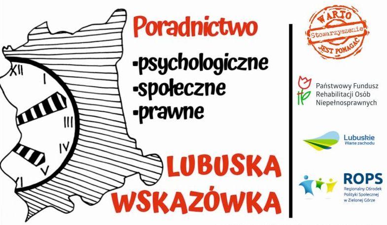 Lubuska Wskazówka - bezpłatne poradnictwo dla osób niepełnosprawnych.