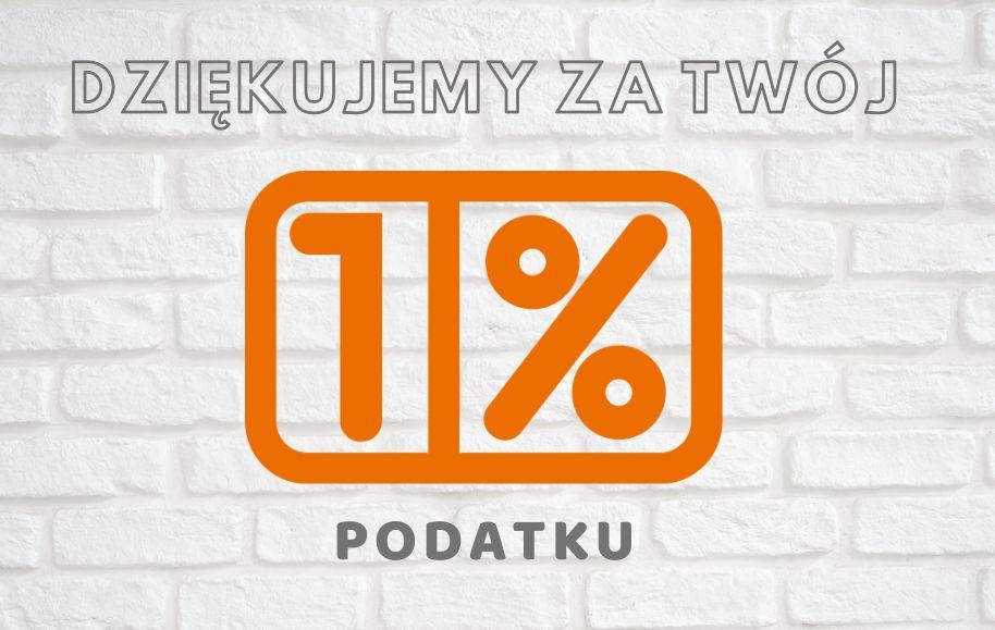 Dziękujemy za 1% podatku.