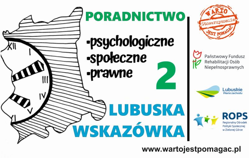 Lubuska Wskazówka 2 - poradnictwo dla osób niepełnosprawnych.