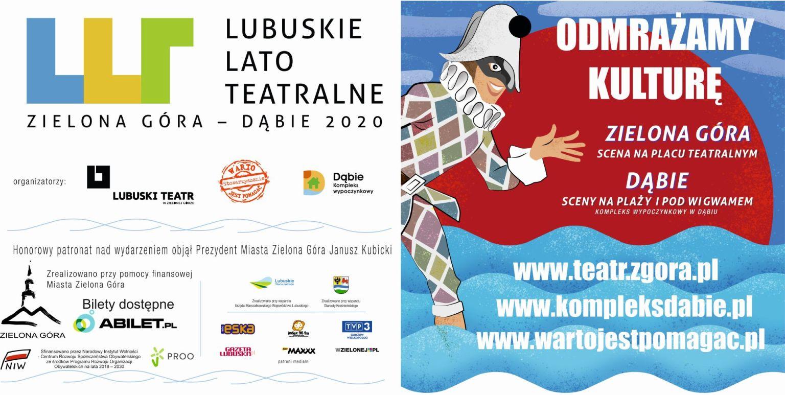 Lubuskie Lato Teatralne Zielona Góra, Dąbie 2020